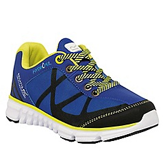Regatta - Kids Blue hyper trail lightweight shoe