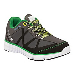 Regatta - Kids Grey hyper trail lightweight shoe