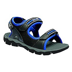 Regatta - Kids blue terrarock junior active sandals