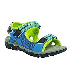 Regatta - Blue/ lime kids terrarock sandal