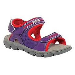 Regatta - Purple/ pink kids terrarock sandal