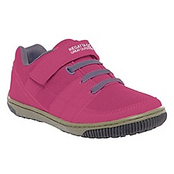 Regatta - Pink/purple kids baseline trail shoe