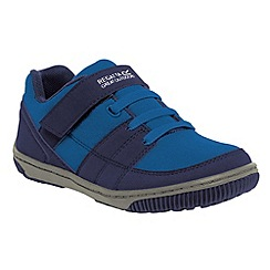 Regatta - Navy/blue kids baseline trail shoe