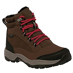 Regatta - Kids Brown Mountpeak mid walking boot