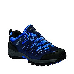 Regatta - Kids navy Holcombe junior walking shoes