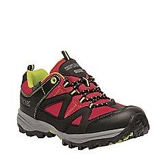 Regatta - Red kids 'Gatlin' low walking shoe