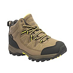 Regatta - Kids natural Holcombe junior walking boots