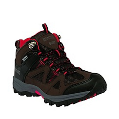 Regatta - Kids Brown Gatlin mid walking boot