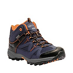 Regatta - Blue kids 'Gatlin' mid walking boot