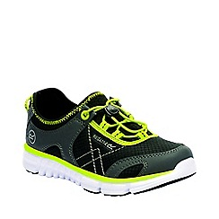 Regatta - Kids black platipus junior shoes