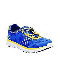 Regatta - Kids blue platipus junior shoes