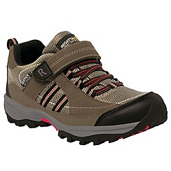 Regatta - Kids Brown Trailspace walking shoe