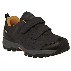 Regatta - Kids Brown Helmshore low walking shoe