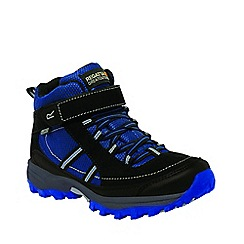 Regatta - Kids Blue Trailspace mid walking boot