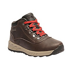 Regatta - Kids Brown 'Grimshaw' walking boot
