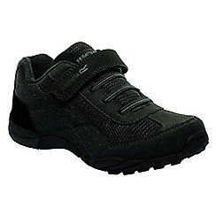 Regatta - Kids black stonegate junior shoes