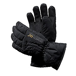 Regatta - Kids Black kids arlie waterproof glove