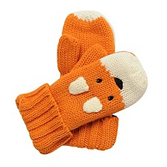 Regatta - Orange - fox kids viva animal mitts