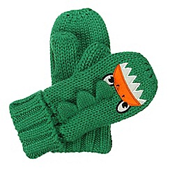 Regatta - Kids Monster green animally mitts