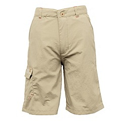 Regatta - Taupe kids warlock short