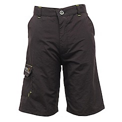Regatta - Dark grey kids warlock short