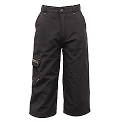 Regatta - Dark grey kids warlock capri