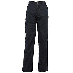 Regatta - Navy lined crossfell trousers