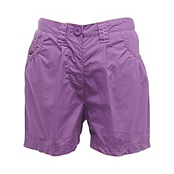 Regatta - Purple heart girls dolie short
