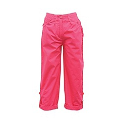 Regatta - Pink girls dolie capri