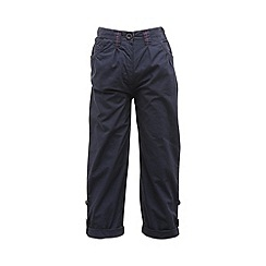 Regatta - Navy girls dolie capri