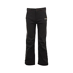Regatta - Black kids dayhike stretch trouser
