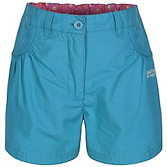 Regatta - Girls Aqua doddle cotton shorts
