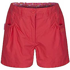 Regatta - Girls Orange doddle cotton shorts