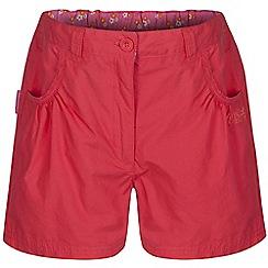 Regatta - Girls Orange doddle cotton shorts