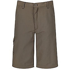 Regatta - Kids Green sorcer zip off trousers