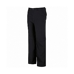 Regatta - Kids Grey sorcer zip off trousers