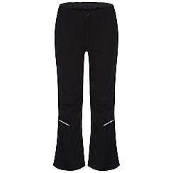 Regatta - Kids Black heathtek leightweight trousers