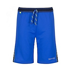 Regatta - Boys' blue Resolver short