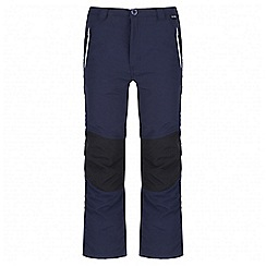 Regatta - Kids Navy Sorcer showerproof trouser