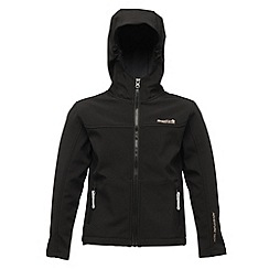 Regatta - Black (seal grey) tyson ii softshell