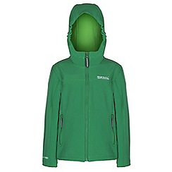 Regatta - Kids Green tyson lightweight jacket