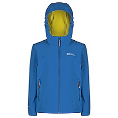 Regatta - Kids Blue tyson lightweight jacket