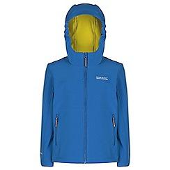 Regatta - Kids Blue tyson lightweight jacket