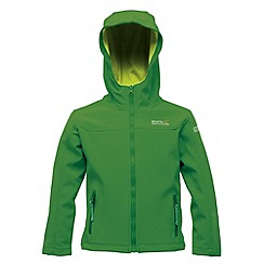 Regatta - Bright green/ lime kids tyson jacket