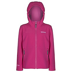 Regatta - Kids Pink tyson lightweight jacket