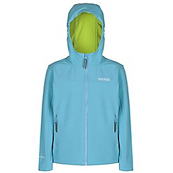 Regatta - Kids Teal tyson lightweight jacket
