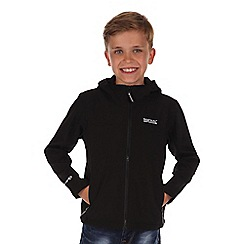 Regatta - Kids Black tyson lightweight jacket