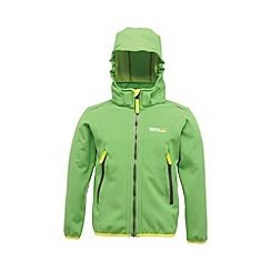 Regatta - Green(lime) kids adella jacket