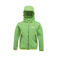 Regatta - Green(lime) kids adella jacket