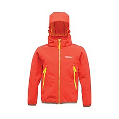 Regatta - Red(yellow) kids adella jacket